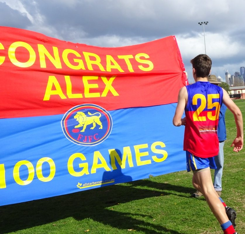 2017 U15-1 Alex's 100th