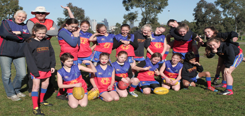 2014 Girls U12 Team
