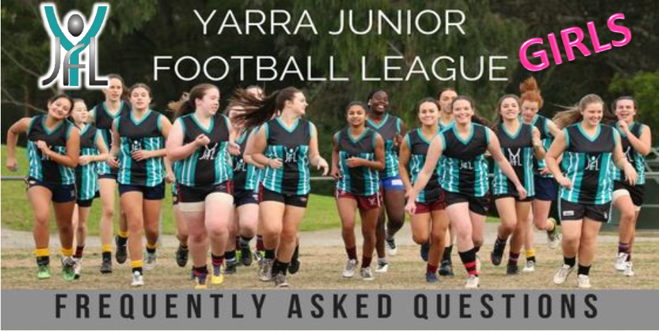 Girls Footy YJFL FAQ's