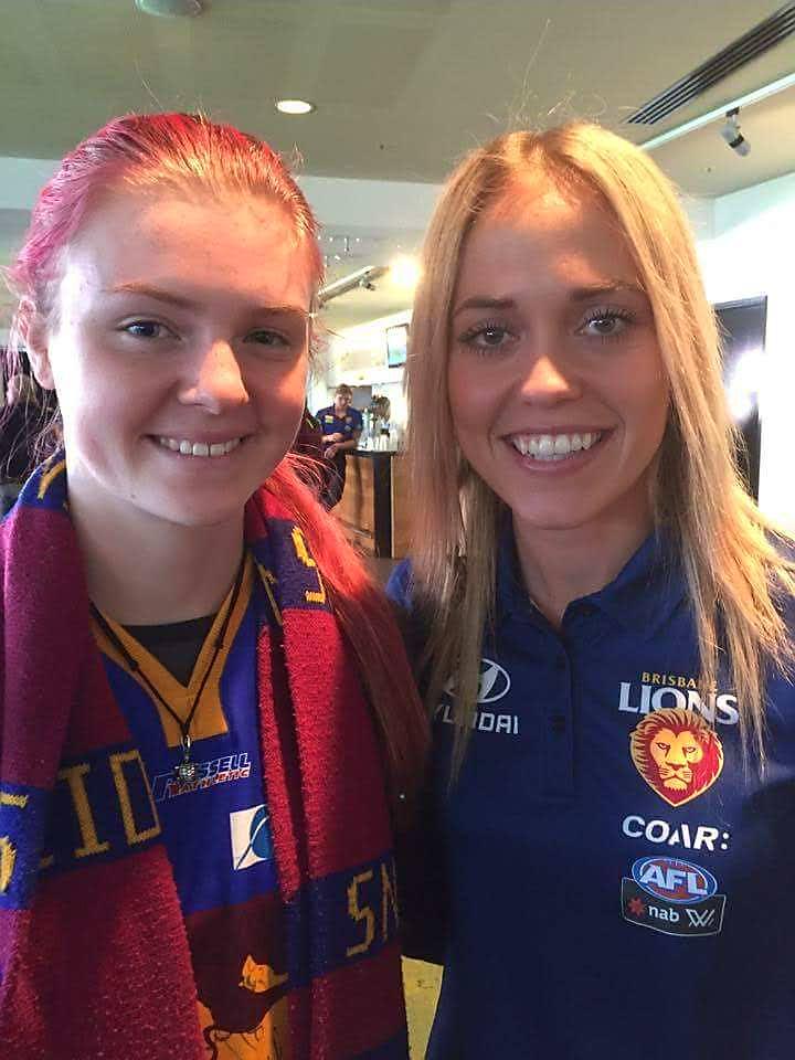 Brisbane Lions Afl Womens Team Guernsey